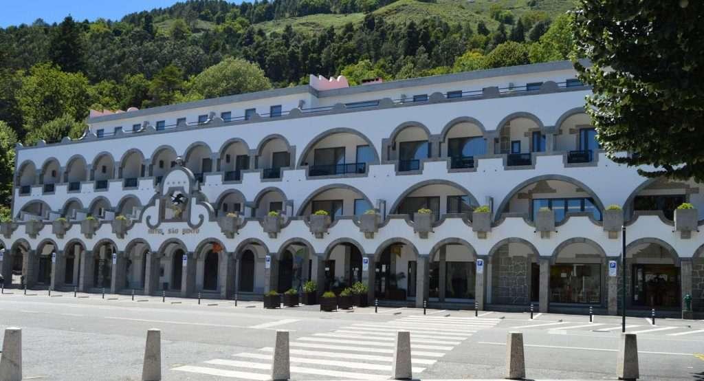 FACHADA HOTEL SÃO BENTO Gerês