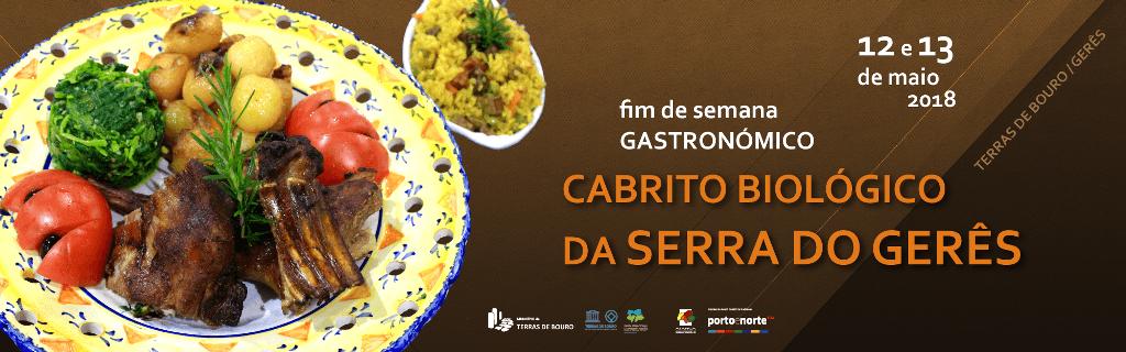 Fim de semana gastronómico do Cabrito Biológico da Serra do Gerês
